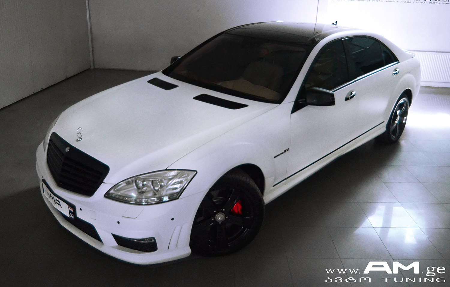 Mb S550 Car Wrapping Auto Am Ge