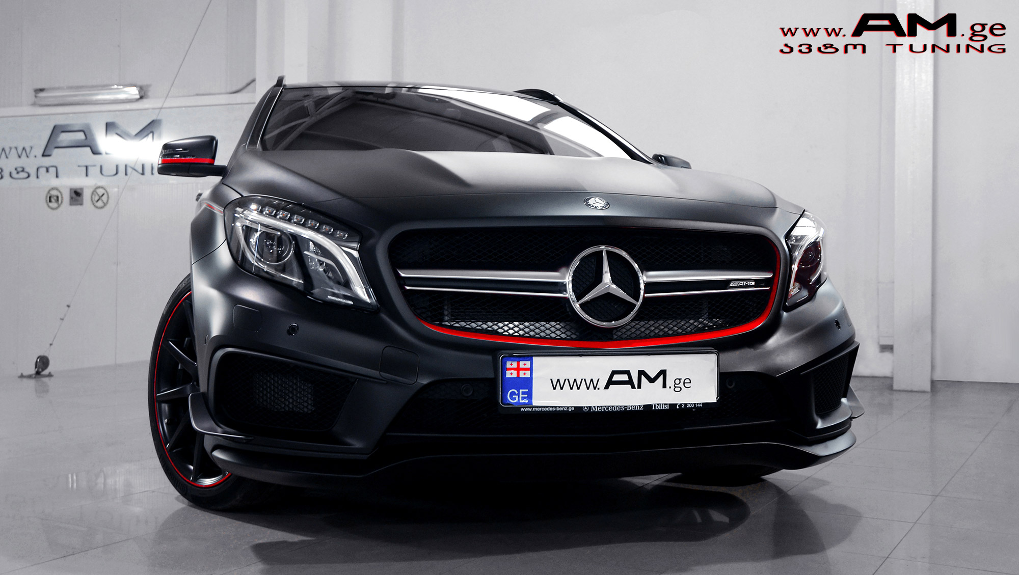 Mb Gla 45 Amg Car Wrapping Auto Am Ge