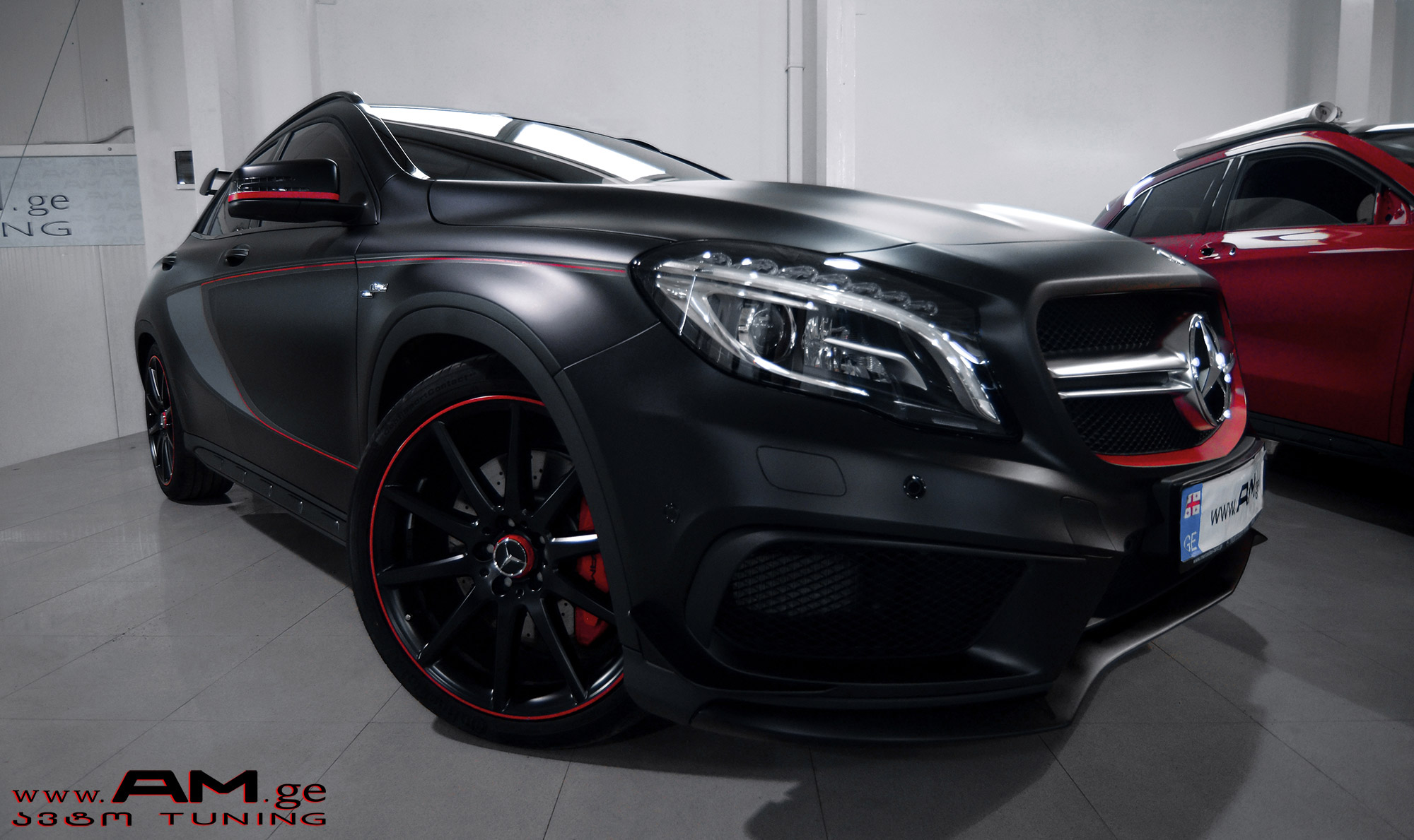MB GLA 45 AMG | Car Wrapping | AUTO.AM.GE