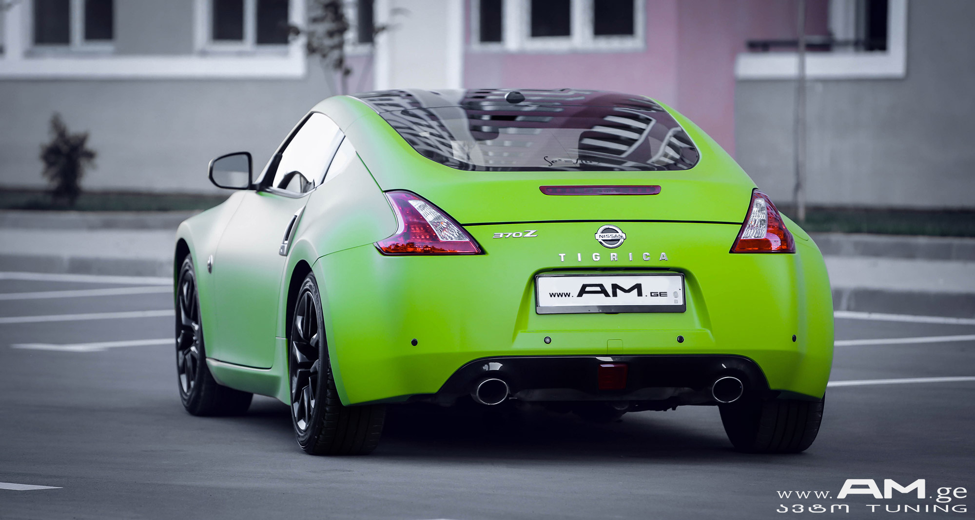 NISSAN Z370 GREEN | Interior Design | AUTO AM GE